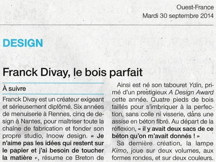 2014-septembre-parution-ouest-france-design-franck-divay-bois-parfait-apercu