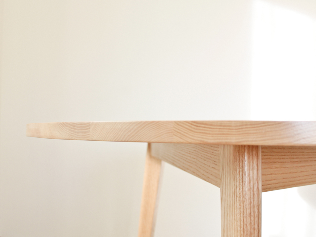 Table Flep frene naturel - inoow design 2013 - vue detail 1