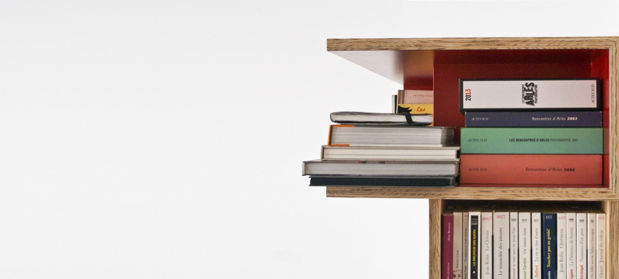 Bibliothèque bâtipin sur mesure