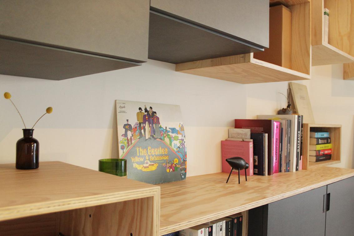 meuble sur mesure rennes fabulous rnovation triplex cuisine ouverte sur le salon with meuble. Black Bedroom Furniture Sets. Home Design Ideas